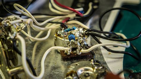 guitar wiring capacitor volume pot how a simple treble bleed mod to your guitar s volume pot can improve your tone hughes
