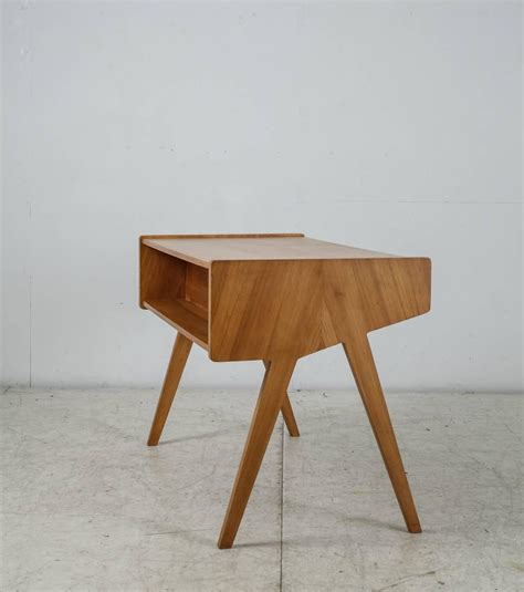 Helmut Magg Small Wooden Writing Desk Germany 1950s For Small Wooden Writing Desk