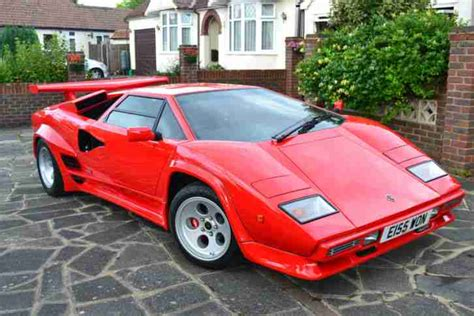 Lamborghini Countach 2014 Lamborghini Countach 2014 Built On Own Space Frame