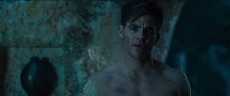 hollywood bathroom scene wonder woman chris pine cinematographer talk bath scene
