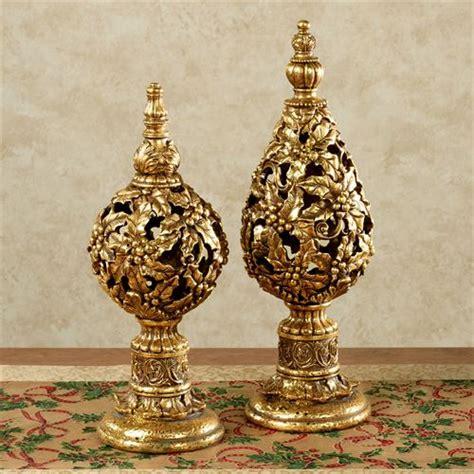 Decorative Finials by Decorative Tabletop Finial Set