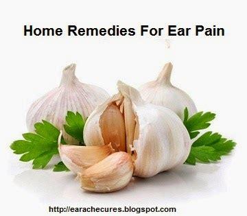 earache cures