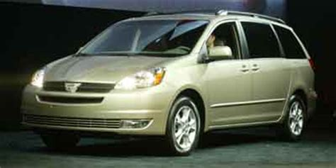 2004 toyota sienna wheel and rim size iseecars.com