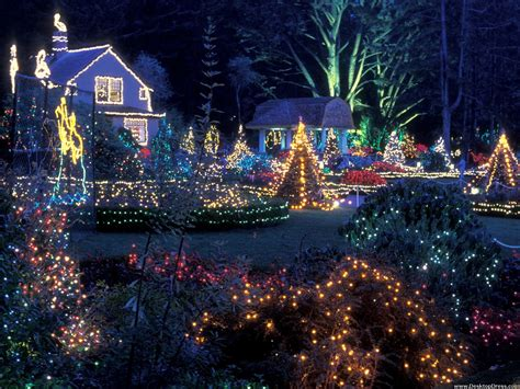 christmas illumination or christmas light desktop wallpapers 187 backgrounds 187 lights shore acres state park oregon 187 www