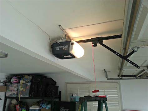 Low Profile Garage Door Opener Homesfeed Overhead Door Garage Openers