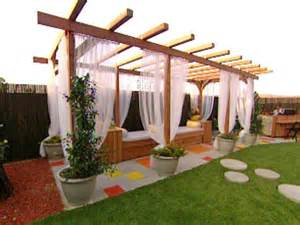 How To Build A Covered Pergola by Build A Pergola For A Deck Or Patio Hgtv