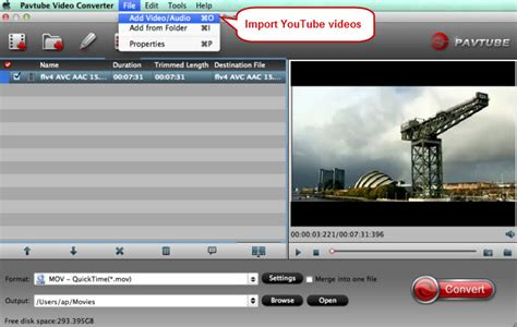 youtube video format quicktime can i play youtube videos to quicktime player on mac