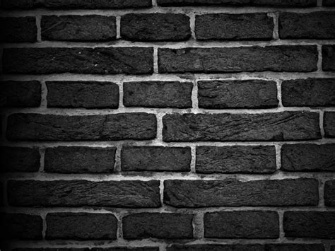 brick texture ppt backgrounds abstract black white