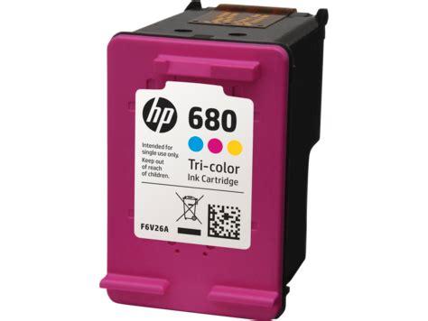 hp 680 tri color original ink advantage cartridge (f6v26aa