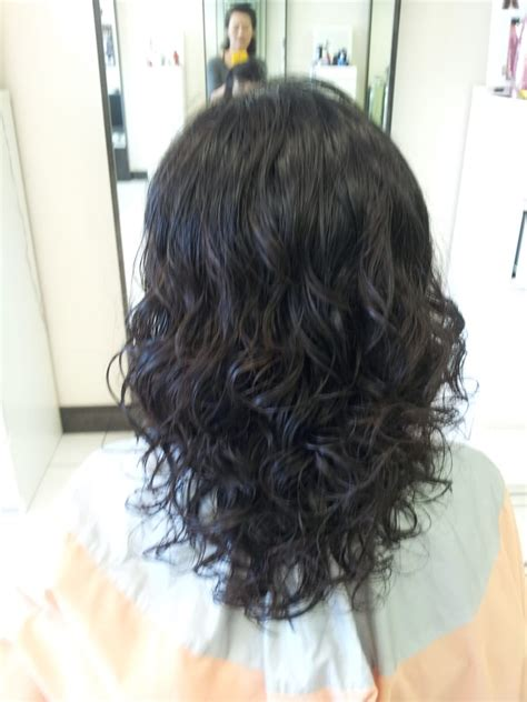 difference between a cosme perm and a digital perm digital perm for medium length hair tight curls yelp