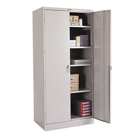 Tennsco Storage Cabinet Tennsco 2470lgy 36 Quot X 24 Quot X 78 Quot Light Gray High Deluxe Storage Cabinet