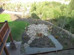 rustic pit triyae rustic backyard pit designs various