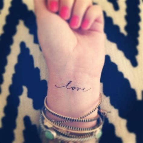script writing tattoos on wrist girly pretty tatt script wrist lovely fancy