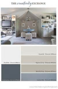 grey office paint palette interior paint color color palette ideas home bunch