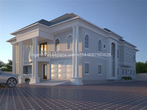 house design plans in nigeria 6 bedroom bungalow house plans in nigeria modern house