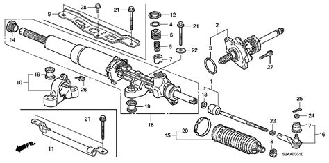 honda s2000 electric power steering rack parts view possible upgrades from the club racer s2ki honda s2000 forums