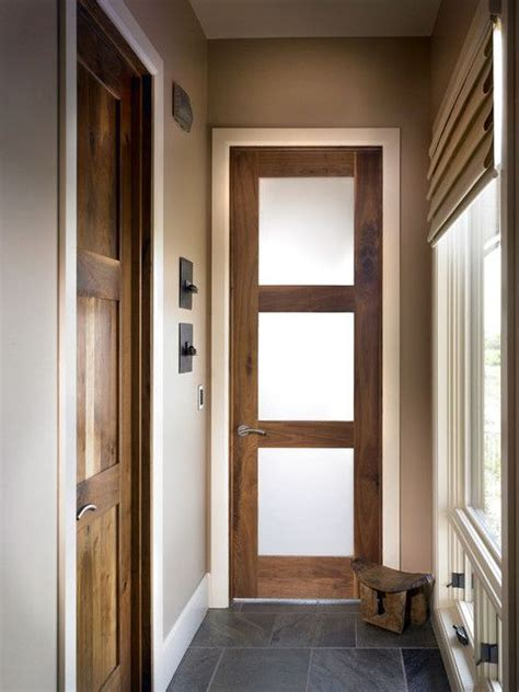 interior wood door with frosted glass panel best photos