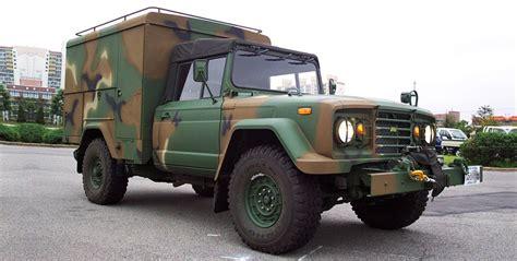 kia military jeep km452 shop vans kia motors corporation s military vehicle