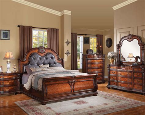acme furniture bedroom sets classical bedroom set nathaneal by acme furniture ac22310set