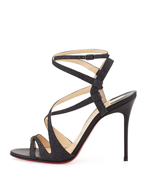 christian louboutin sandals christian louboutin patent leather slide sandals spiked