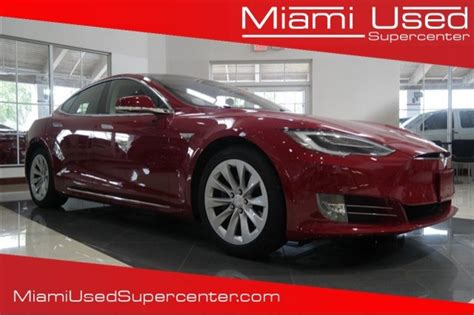 Used Tesla For Sale Florida 2016 Tesla Model S For Sale 58 Used Cars From 28 750