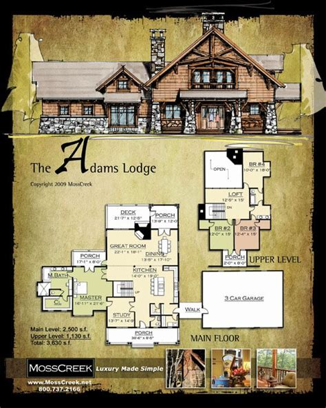 old looking plan and elevation log cabin ideas