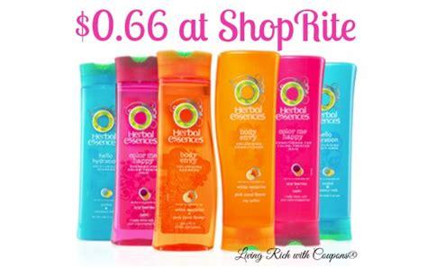 best deals shoprite pirate s herbal essences herbal essences coupon 0 66 each at shoprite living