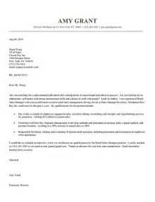Cover Letter Retail Sales Associate by Sle Cover Letter For Retail Sales Associate Sle