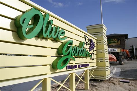 Olive Garden Panama City by Olive Garden At Pier Park Prepares To Open