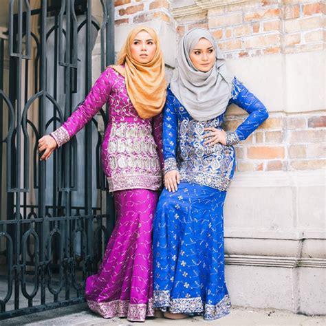 Patern Baju Kurung Kain Sari 10 fesyen baju kurung pilihan 2017 mybaju