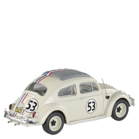 Hotwheels Vw Herbie wheels elite vw beetle 1962 herbie 1 43 scale model iwoot