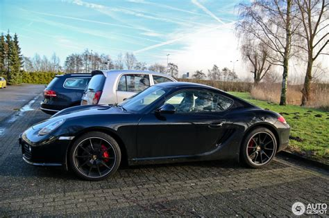 Porsche Cayman S Mkii Black Edition 2 January 2015