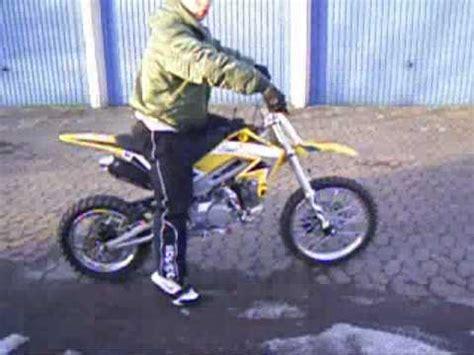 125ccm Motorrad Online Shop by Cross 125ccm Sound Test Www Gangster Bikes De Tl Youtube