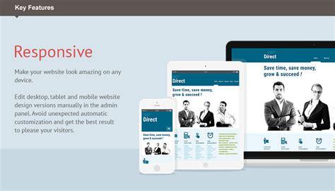 html responsive design iframe business moto cms 3 template 53832 templates com