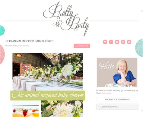 Baby Shower Venues San Diego by San Diego Baby Shower On Pretty
