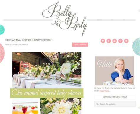 Bridal Shower Locations San Diego by San Diego Baby Shower On Pretty