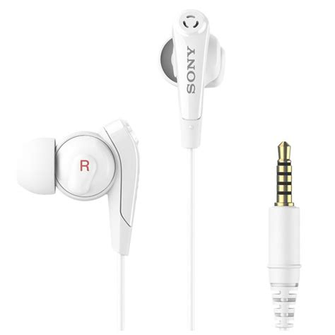 Headset Sony Mdr Nc31em sony mdr nc31em stereo headset white
