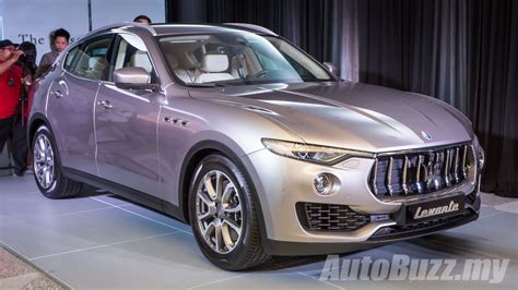 levante maserati price 2016 maserati levante previewed in malaysia price begins