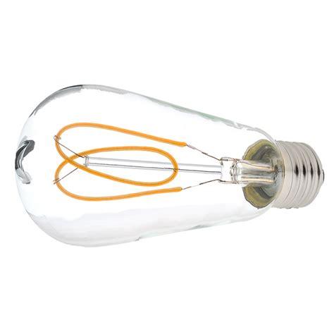 flexible filament led bulb st18 carbon filament style