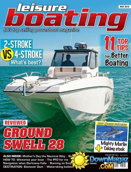 leisure boating magazine leisure boating may 2016 187 download pdf magazines