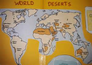 Desert World Map by Deserts On World Map Www Galleryhip Com The Hippest Pics