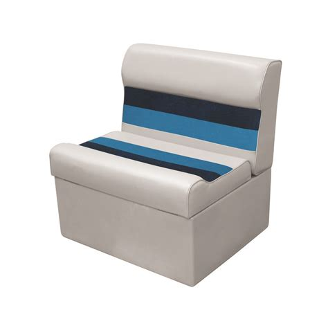pontoon boat seat cover material wise pontoon seats benches gt deluxe 28 oz vinyl gt bench