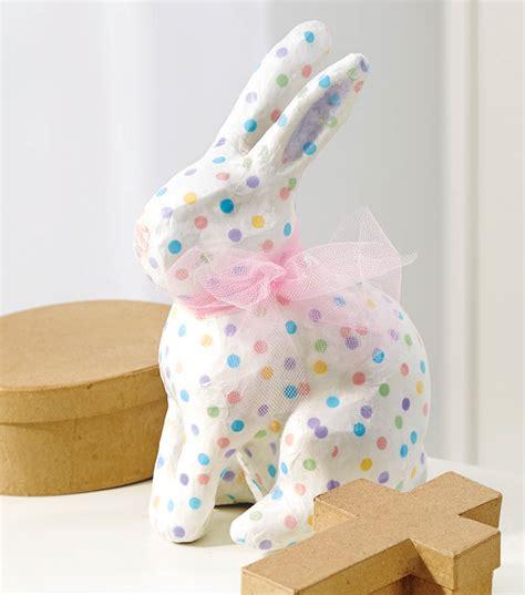 Paper Mache Decoupage - decoupage paper mache bunny joann jo