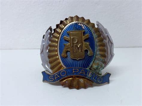 Null Pm Sp insignia pol 237 cia militar do estado de s 227 o paulo r 80 00 em mercado livre