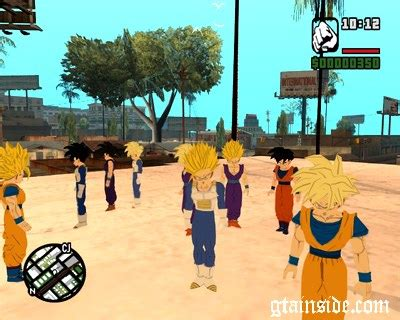 download game mod dragon ball online java gta san andreas ped replacement special pack gohan mod