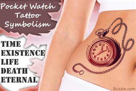 small pocket watch tattoo ideas for a stunning pocket design and its