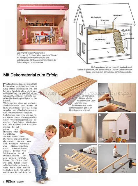 wooden dolls house plans wooden doll house plans woodarchivist