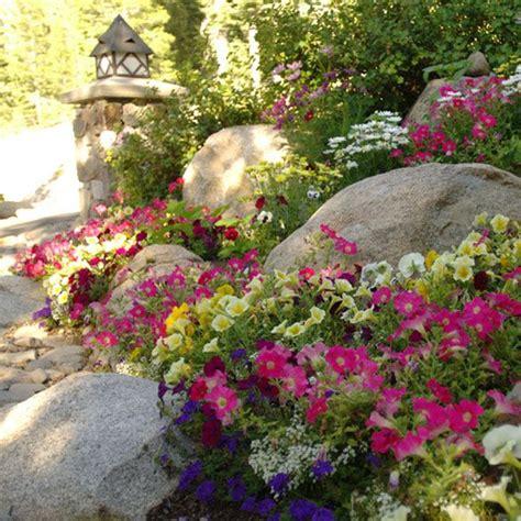 flower bed rocks 17 best images about rock garden on pinterest gardens