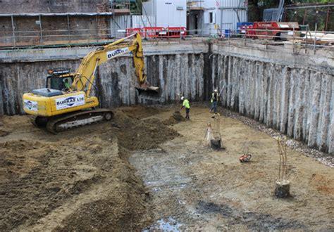 burras basement construction london piling contractors