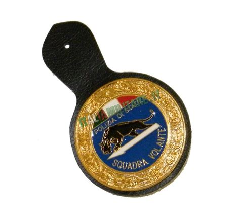 polizia volante spilla distintivo polizia squadra volante polizia di